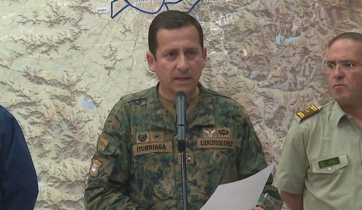 """General Javier Iturriaga: """"Yo no estoy en guerra con nadie""""."""