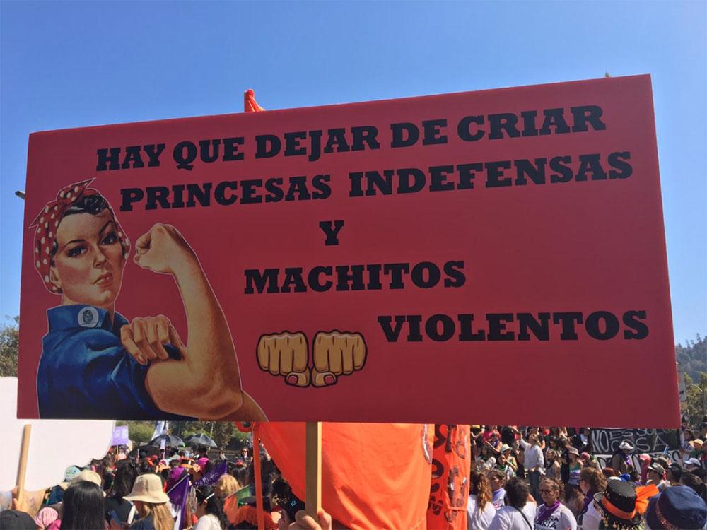 Marcha Feminista 8 de Marzo