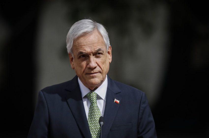 Piñera también pone condiciones a realización de plebiscito constituyente