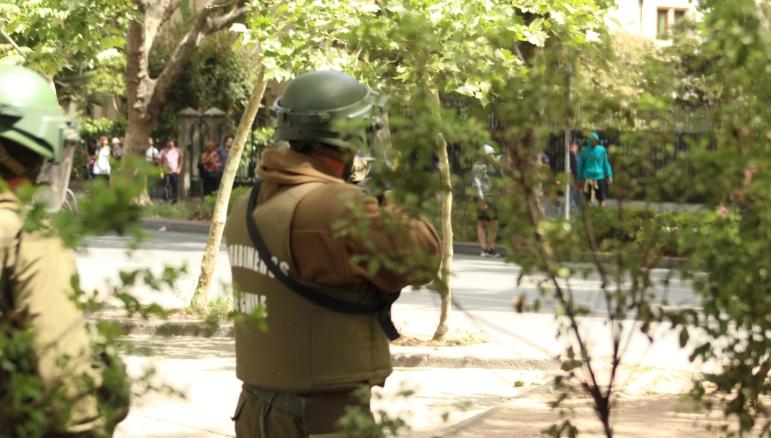 Confirman que autores de balacera contra manifestantes en La Florida eran carabineros