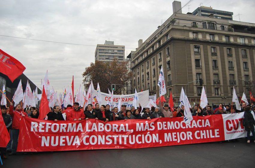 CUT y este 1 de Mayo…Día triste para los trabajadores chilenos