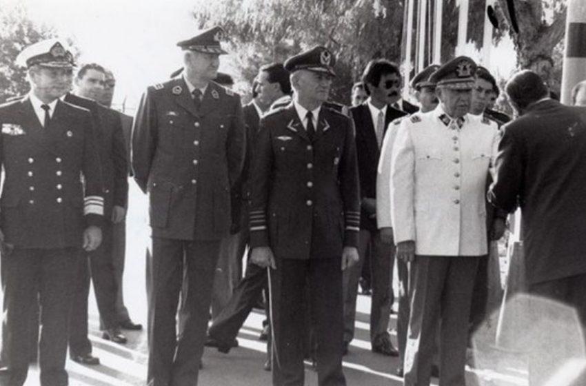 Carabineros bautizó academia con el nombre de Rodolfo Stange, miembro de la Junta Militar