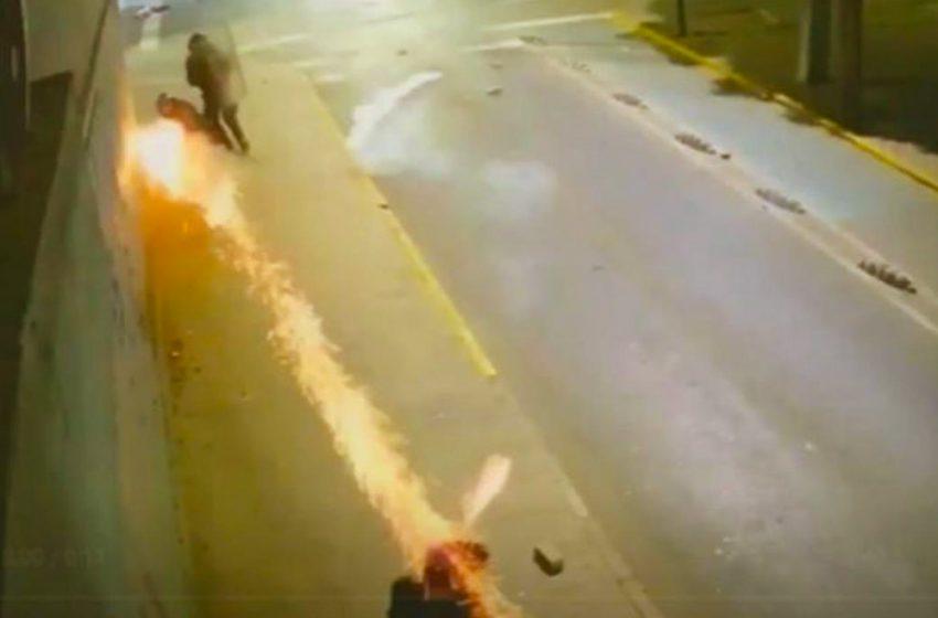 Carabinero que lanzó lacrimógena a manifestante a la cabeza fue condenado a cinco años de libertad vigilada