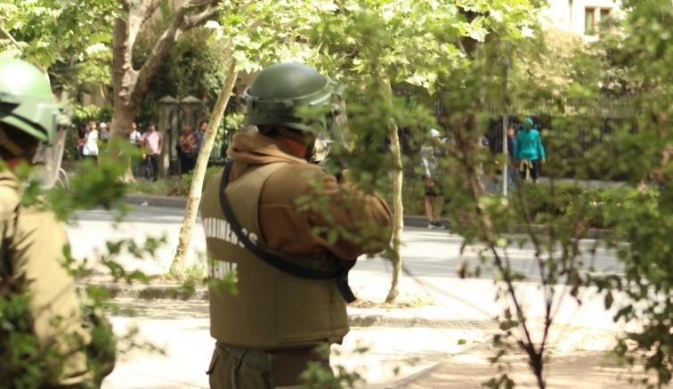 INDH ha interpuesto 2.329 querellas contra Carabineros desde el 18 de octubre