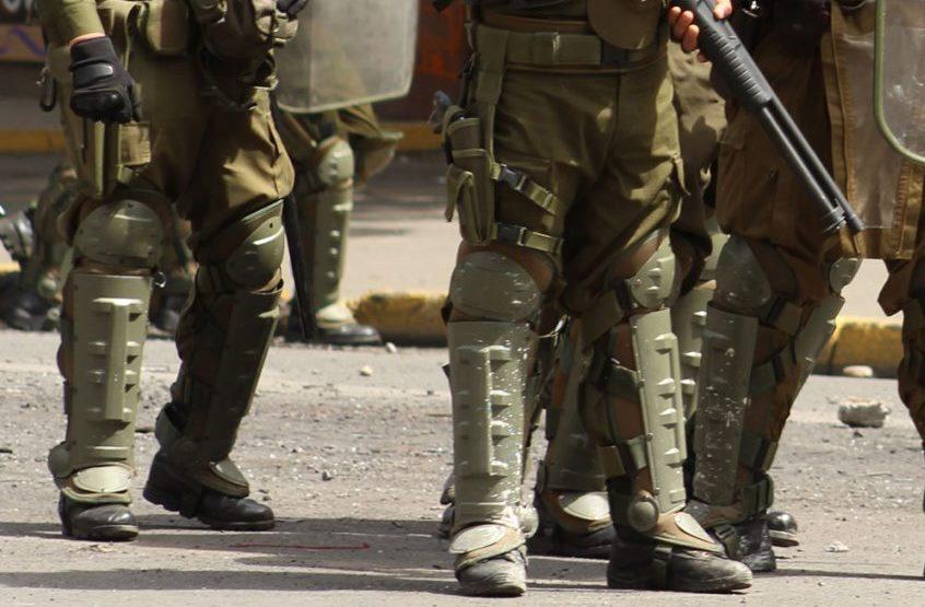 Preparan formalizaciones por disparos y lesiones oculares de carabineros en región del BíoBío
