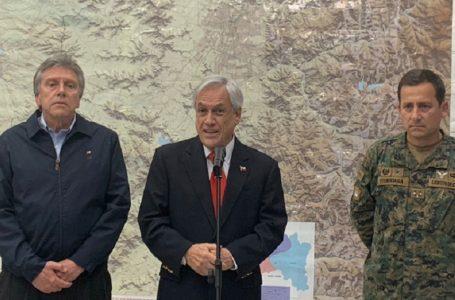"""Piñera dijo """"estamos en guerra"""" basado en informe de inteligencia del Ejército plagado de errores"""