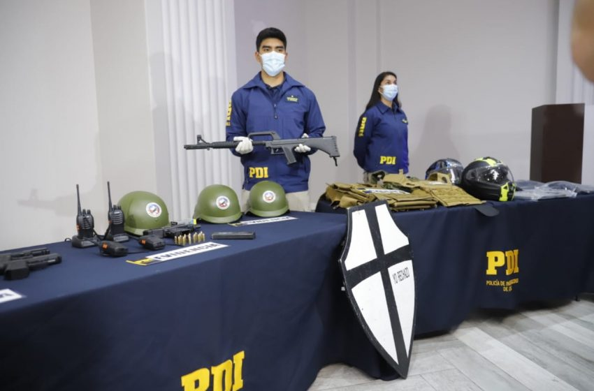 """Galli y detenidos por amenazas a Chong: """"Los utensilios que tenían no eran de gran importancia, salvo una ametralladora UZI"""""""